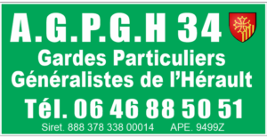 Garde particulier pour les syndicats Herault